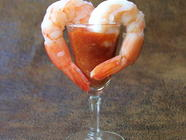 Shrimp Cocktail with Homemade Cocktail Sauce found on PunkDomestics.com